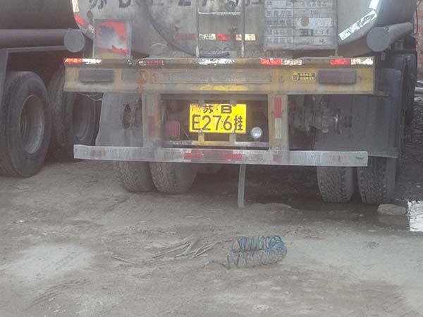 危险品、新能源(纯电动、油改气)军品物资车辆安装导静电拖地带的必要性